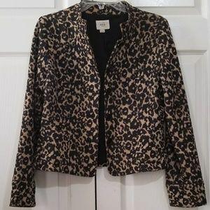 eci NY | Leopard Jacket blazer 8